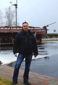 Nick Holdsworth at deposed Ukrainian president Viktor Yanukovych's Mezhyhirya estate near Kiev, Saturday February 22, 2014
